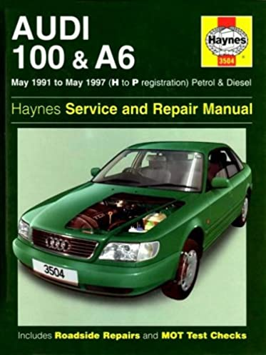 audi 100 and a6 1991 97 service and repair manual service rh amazon co uk 2000 Audi 100 2000 Audi 100