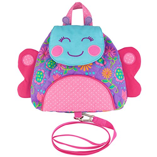 Stephen Joseph Little Buddy Bag With Safety Harness, ()