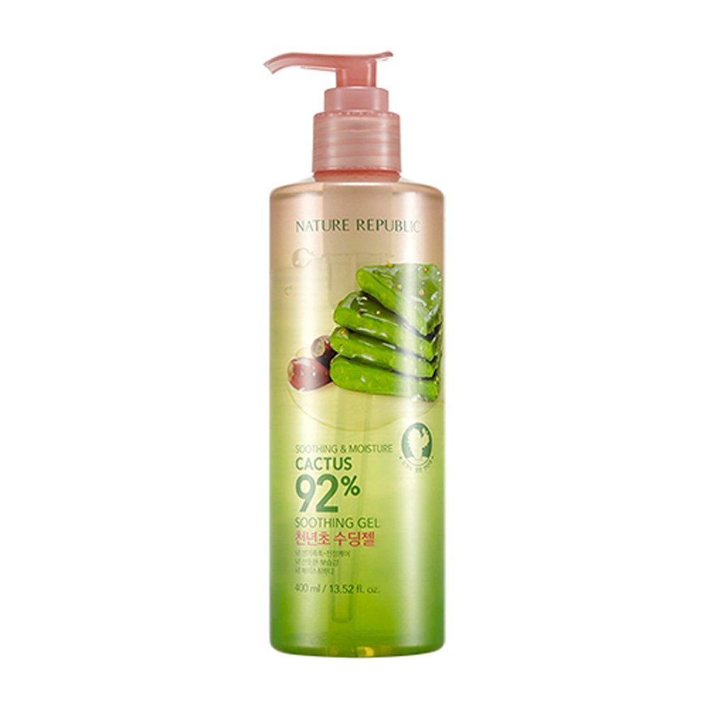Nature Republic Soothing & Moisture Cactus 92% Soothing Gel 400ml / 13.52 fl.oz