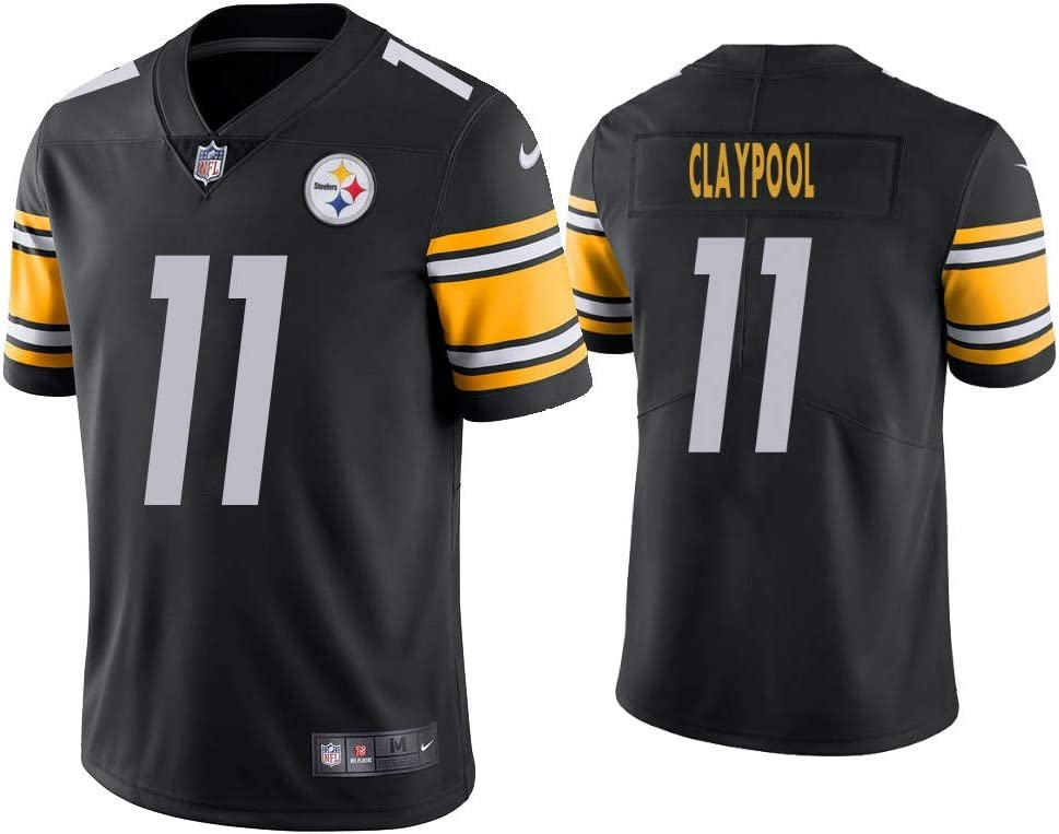 Mens Chase/_Claypool 11 Black Color Rush Limited sportwears Jerseys Football activewears