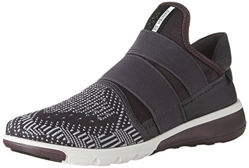 ECCO Women's Intrinsic 2 Band Fashion Sneaker, Night Shade-Crocus, 40 EU / 9-9.5 US