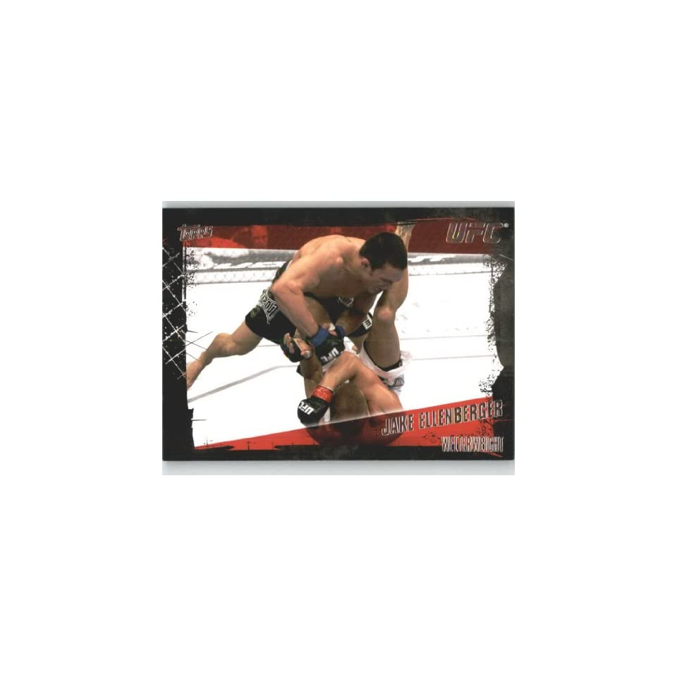 2010 Topps UFC Trading Card # 111 Jake Ellenberger (Ultimate