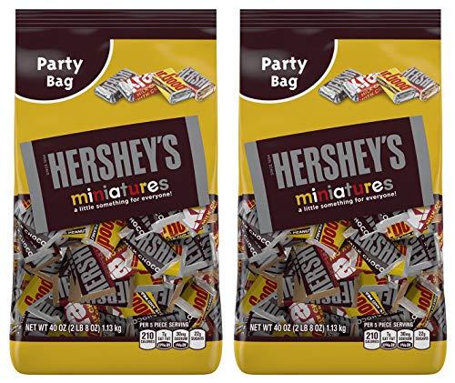 HERSHEY'S EIURYTEU Chocolate Assorted Miniatures Halloween Candy, 40oz Krackel, Mr. Goodbar, Special Dark 2 -