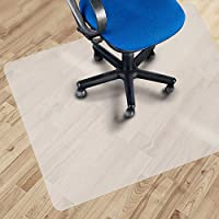 "Office Marshal Eco Office Chair Mat for Hard Floor Protection - 30"" x 48"" - No BPA, Phthalates, Odorless"