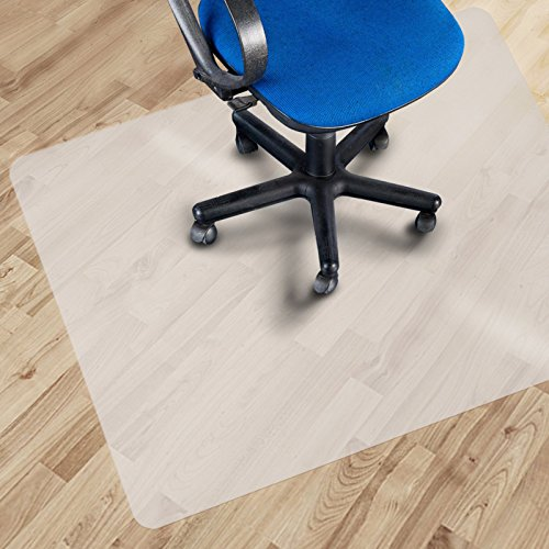 Office Marshal Eco Office Chair Mat for Hard Floor Protection - 30' x 48' - BPA, Phthalate, Odor Free