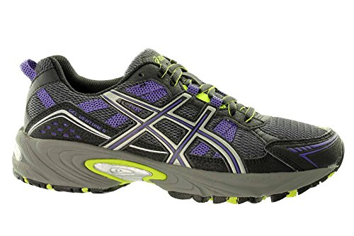 Asics Gel-Venture 4 Womens Trail Laufschuhe Black