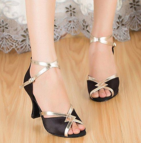 TDA - Zapatos de tacón  mujer 7.5cm Heel Black