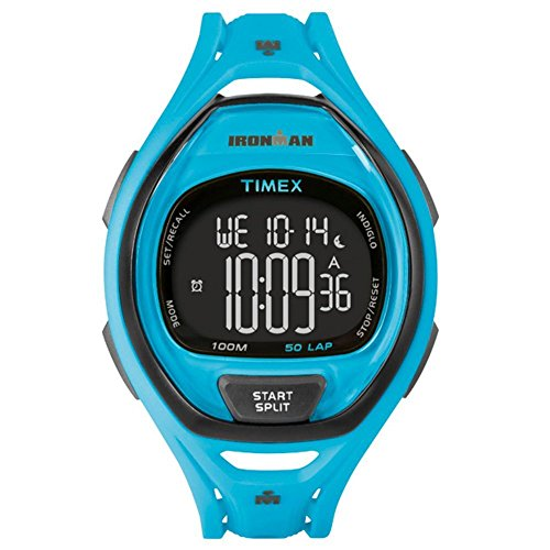 Timex-Ironman-Sleek-50-Full-Size-Watch-Neon-Blue