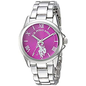 U.S. Polo Assn. Women's Quartz Metal and Alloy Casual Watch, Color:Silver-Toned (Model: USC40134)