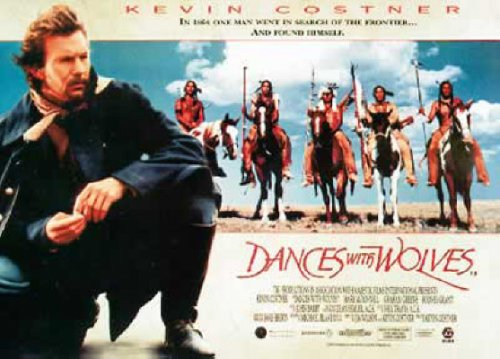Dances With Wolves - Movie Poster (Horizontal) (Size: 38'' x 27'') (Dance Movie Poster)