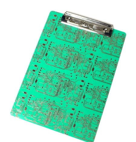Circuit Board Clipboard for Geeks ()