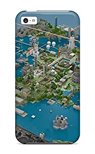 JessicaBMcrae ZQFiamn7300BCTuz Case Cover Skin For Iphone 5c (architecture Home Maps ) Kimberly Kurzendoerfer