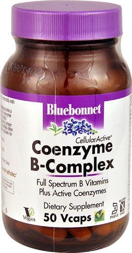 Bluebonnet Nutrition CellularActive® Coenzyme B-Complex -- 50 Vcaps® - 3PC by Blue Bonnet