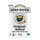 Deep River Snacks Kettle Chips, Original Salted, 1-Ounce Bags (Pack of 80)