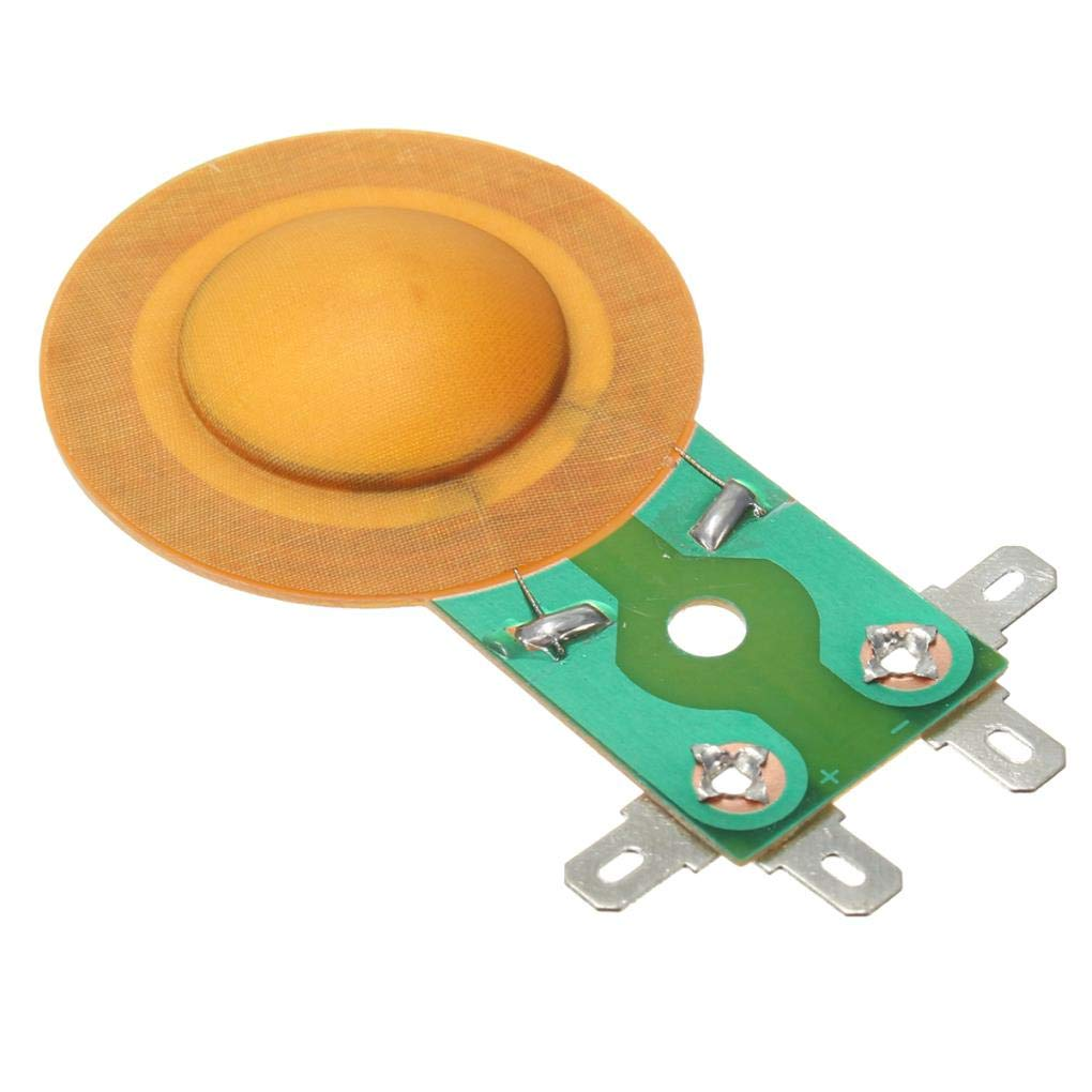Yongse 1pcs 25.5mm Horn Film Resin Treble Film Resin Membrane Drive Head Tweeter Voice Coil