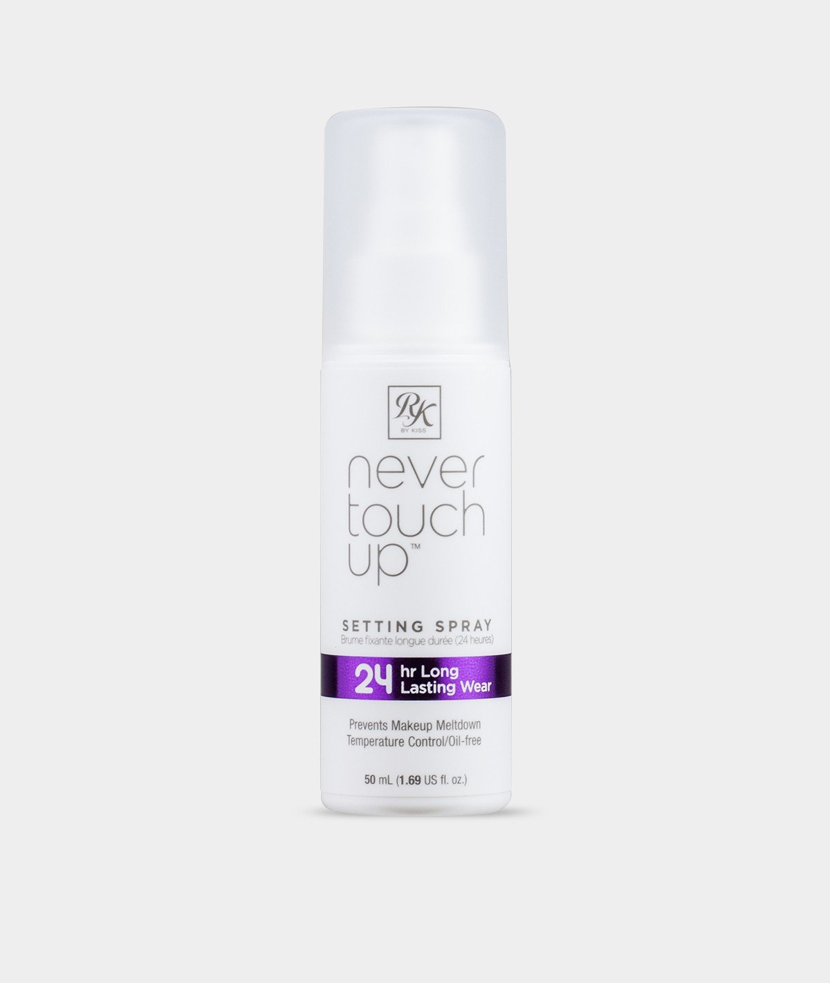 RK BY KISS NEVER TOUCH UP SETTING SPRAY