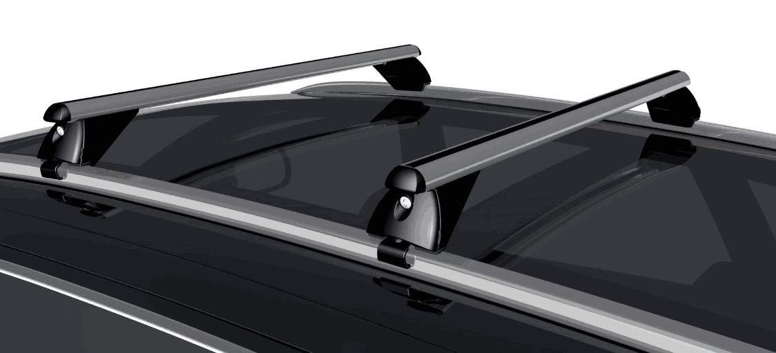 ab 2011 VDP Alu Dachtr/äger RB003 kompatibel mit Audi Q3 5T/ürer