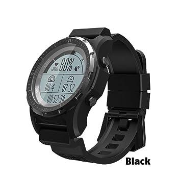 FJTYG GPS Smart Watch Hombres Monitor De Ritmo Cardíaco ...