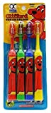 Quality Choice, Toothbrush for Kids, Clifford the Big Red Dog, Chunky Grip Extra Soft, 4 Count