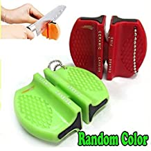 Mini Ceramic Carbide Knife Sharpener Kitchen Blade Pocket Knives Sharpening Tool