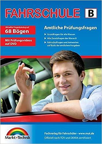 Führerschein Fragebogen Klasse B Auto Theorieprüfung Original