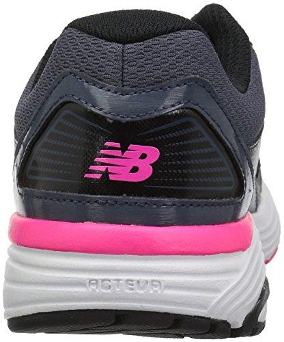 New Balance Damen W560v7 Dämpfung Laufschuh Grau schwarz