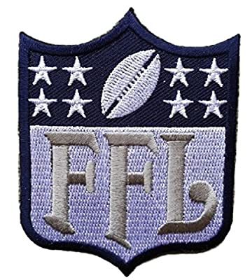Fantasy Football FFL Patch Los Angeles Navy Blue & White (Perfect For Jersey, Award, Trophy or Draft)