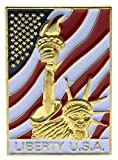 Liberty USA United States Hat or Lapel Pin H6900D13
