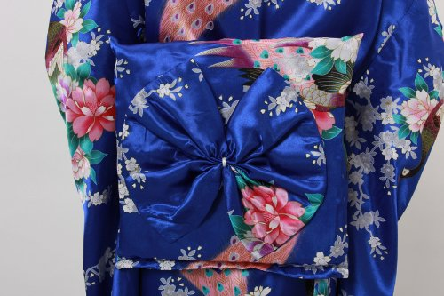 JTC Traditional Japanese Dress Women's Brocade Deluxe Kimono Robe Yukata by Jtc (Image #6)