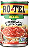 mexican chilies - Ro-Tel Tomatoes Diced with Green Mild Chiles, 10 oz