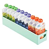 Best Spoon With Storage Pouches - mDesign Baby Food Storage Organizer Bin for Bottles Review
