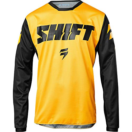 Shift Racing Whit3 Ninety Seven Men's Off-Road Motorcycle Jerseys - Small / Yellow