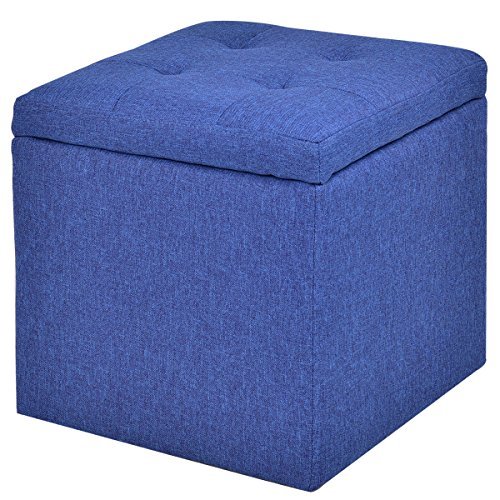 Blue Ottomans Storage Coffee Table Amp More