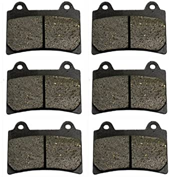 1996-2000 Yamaha Royal Star Tour Classic XVZ1300 Front /& Rear Brake Pads