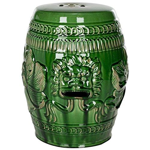 Safavieh Paradise Dragon Jade Green Ceramic Garden Stool