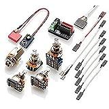 EMG 1 - 2 Pickup Conversion Wiring Kit Solderless