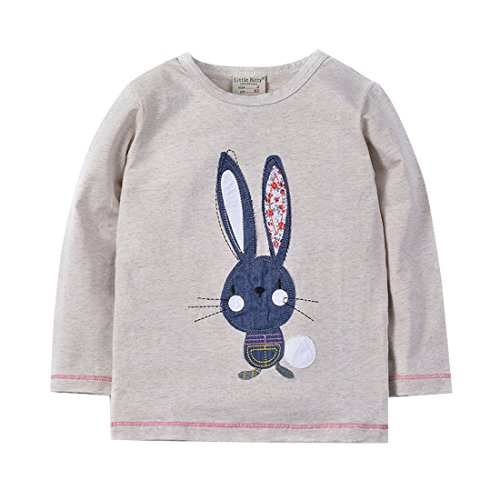 Neighbor Girl Baby Cute Long Ear Mouse sweatshirts 100% Cotton (2-7 Years) (Hollween Costumes Ideas)