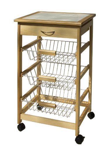 Wire Basket Carts - 6