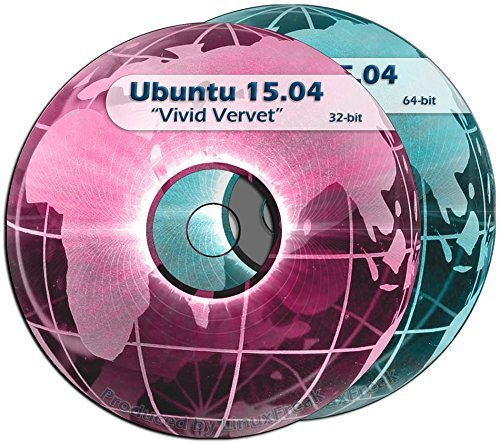 Ubuntu Linux 15.04 Special Edition 2-DVD SET - Includes both 32-bit and 64-bit Versions by LinuxFreak