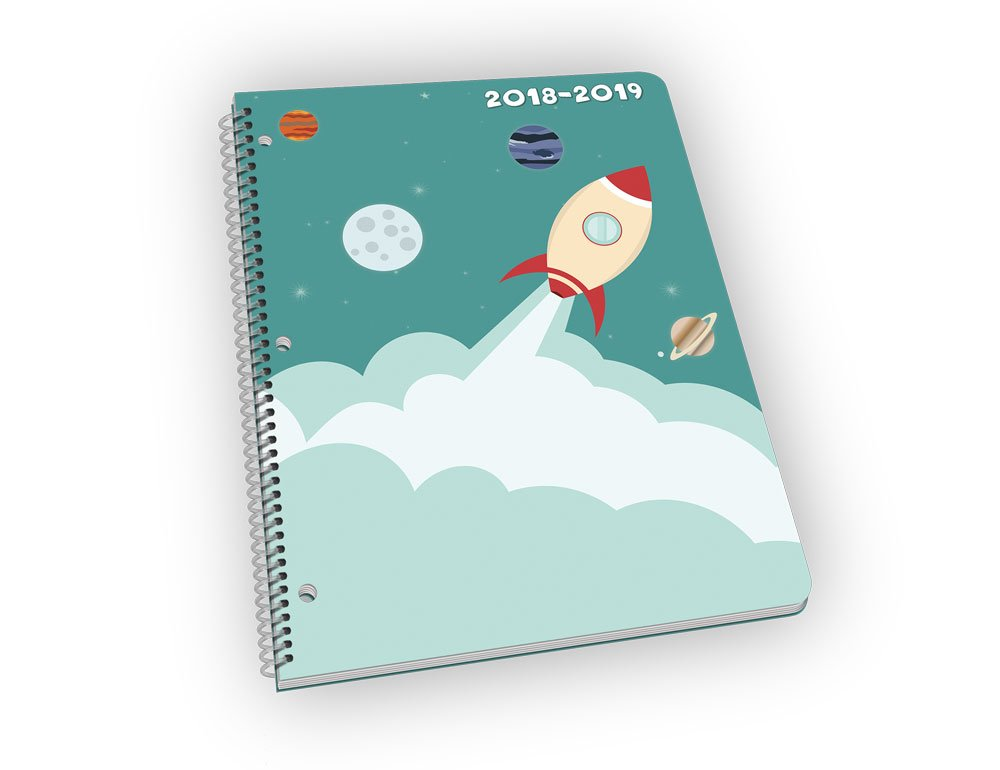 Student Planner for The 2018-2019 School Year for Elementary Kids - by School Datebooks