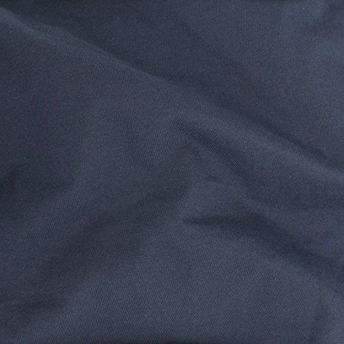 - TELIO Organic Cotton Jersey Knit Navy Fabric by The Yard