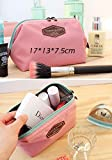 Beauty Travel Cosmetic Bag Portable Cute Multifunction Makeup Pouch Toiletry Case Doubtless Bay (pink)