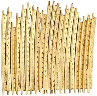 Juego de 20 piezas de alambre para traste de guitarra de latón de ...