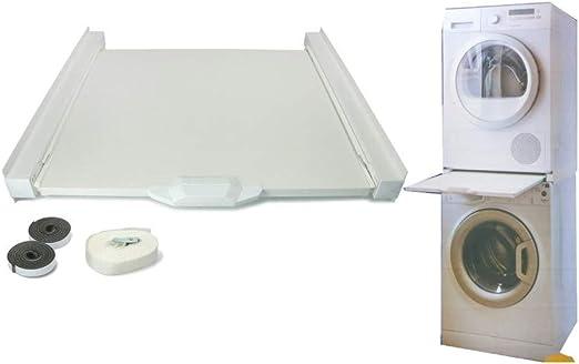 Kit Columna Sobreposición, secadora a lavadora, 60 x 60 cm ...