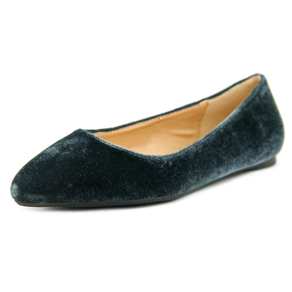 Penny Loves Kenny Women's Aaron Ballet Flat B01MG56LMC 8.5 W US|Grey Velvet