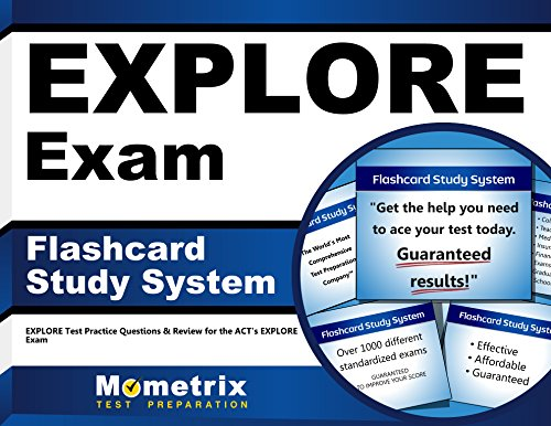 EXPLORE Exam Flashcard Study System: EXPLORE Test Practice Questions & Review for the ACT's EXPLORE Exam (Cards)