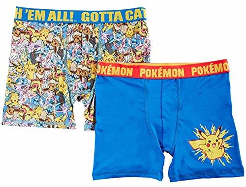 Pokemon Big Boys 2-pk. Character Boxer Briefs 10 - Boys 2pk Briefs Boxer Underwear