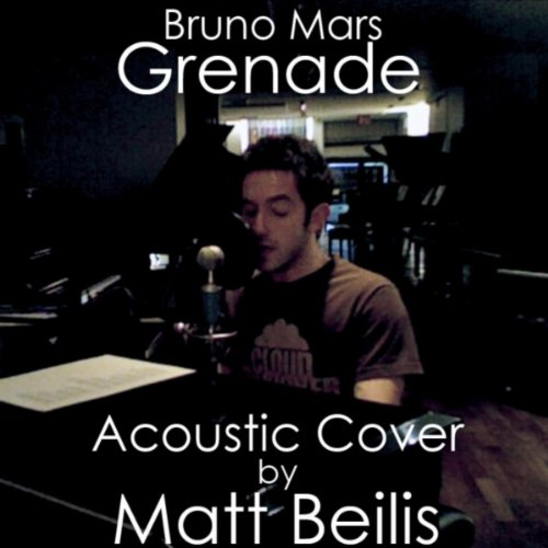 grenade bruno mars acoustic cover matt. Black Bedroom Furniture Sets. Home Design Ideas