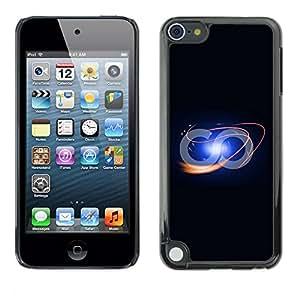 TopCaseStore / la caja del caucho duro de la cubierta de protección de la piel - Funny Infinite Loop - Apple iPod Touch 5