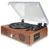 Record Player-13 in 1 Turntable with Speakers Vinyl Recording LP Bluetooth USB TF Card FM Radio Aux Input RCA Line Out…